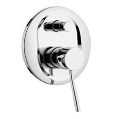 Built-In Single-Lever Bath and Shower Mixer